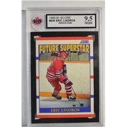 1990-91 Score #440 Eric Lindros RC