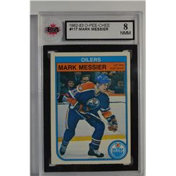1982-83 O-Pee-Chee #117 Mark Messier
