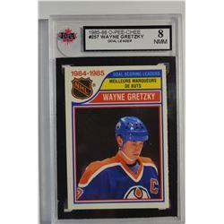 1985-86 O-Pee-Chee #257 Wayne Gretzky LL