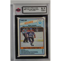 1984-85 O-Pee-Chee #357 Wayne Gretzky TL