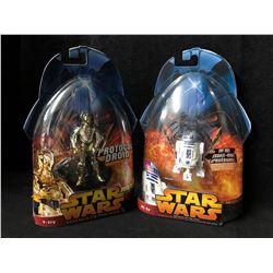 STAR WARS ACTION FIGURES LOT (R2-D2/ C-3PO)