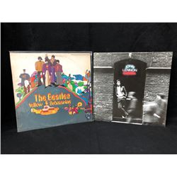 VINYL RECORD LOT (YELLOW SUBMARINE/ JOHN LENNON)