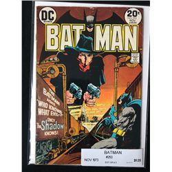 BATMAN #253 (DC COMICS) 1973