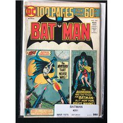 BATMAN #261 (DC COMICS) 1975