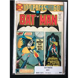 BATMAN #261 (DC COMICS) 1975