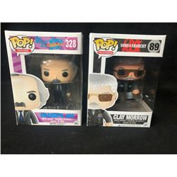POP! VINYL FIGURE LOT (GRANDPA JOE/ CLAY MORROW)