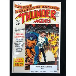 THUNDER AGENTS #20 COMIC BOOK (1969)