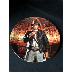 LIMITED EDITION INDIANA JONES & THE LAST CRUSADE COLLECTOR PLATE