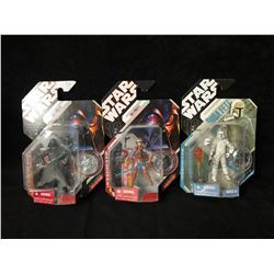 STAR WARS ACTION FIGURES W/ COLLECTOR COINS LOT