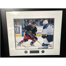 ANDREW CASSELS SIGNED 28 X 32 FRAMED PHOTO