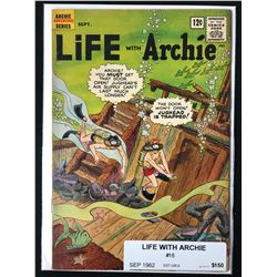 LIFE WITH ARCHIE #16 (ARCHIE SERIES) 1962