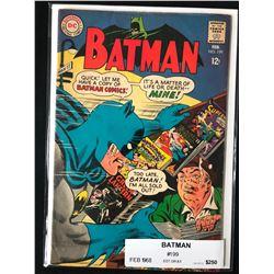 BATMAN #199 (DC COMICS) 1968