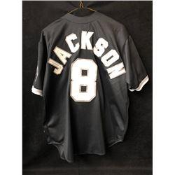 BO JACKSON CHICAGO WHITE SOX BASEBALL JERSEY (LARGE)