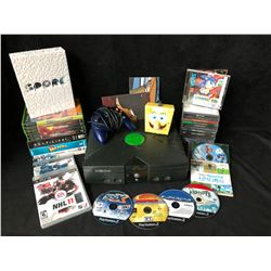 VIDEO GAME SYSTEM/ GAMES & ACCESSORIES LOT