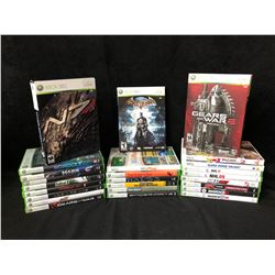 XBOX 360/ Wii VIDEO GAMMES LOT