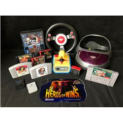 VIDEO GAME & ACCESSORIES LOT