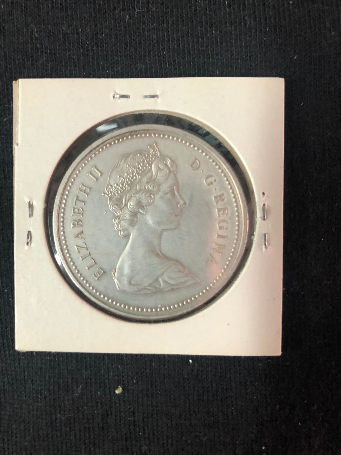1973 RCMP Proof Silver Dollar Coin Royal Canadian Mounted Police FREE SHIPPING