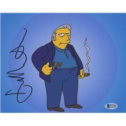 "Joe Mantegna Signed ""The Simpsons"" 8x10 Photo (Beckett COA)"