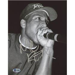 """MC Ren Signed """"NWA"""" 8x10 Photo (Beckett COA)"""