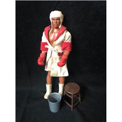 Vintage 1975 MEGO MUHAMMAD ALI DOLL THE CHAMP BOXING ACTION W/ ACCESSORIES