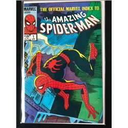 THE AMAZING SPIDER-MAN #1 (MARVEL COMICS) -THE OFFICIAL MARVEL INDEX-
