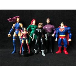 ACTION FIGURE TOY LOT