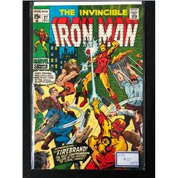 THE INVINCIBLE IRON MAN #27 (MARVEL COMICS)
