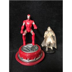 TOY FIGURES LOT (2010 HASBRO LIGHT UP TALKING IRON-MAN...)