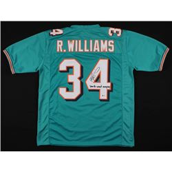 Ricky Williams Signed Miami Dolphins Jersey (BECKETT COA)