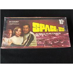 SPACE:1999 BUBBLE GUM CARDS WAX BOX -24 COUNT- (1976)