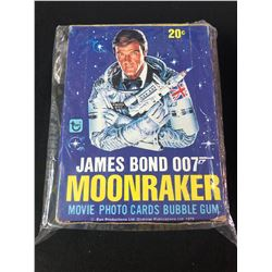 JAMES BOND 007 TOPPS  MOONRAKER MOVIE PHOTO CARDS WAX BOX