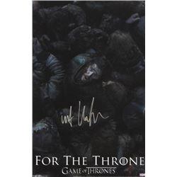 Kit Harington Signed Game of Thrones 11×17 Photo – Battle of the Bastards