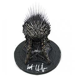 Kit Harington Signed Game of Thrones 7? Iron Throne Replica