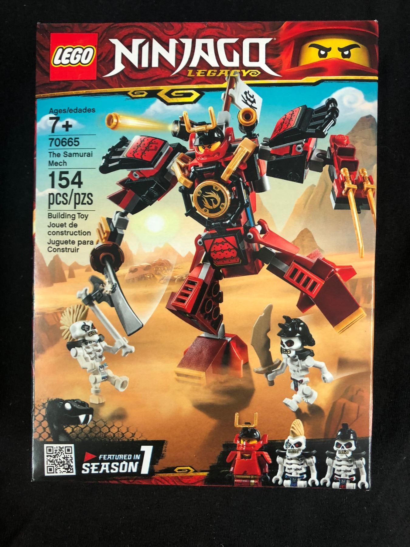 Samurai Legacy Mech 70665 Ninjago The Lego 2EDH9I