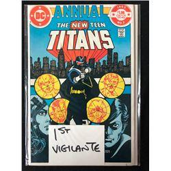 THE NEW TEEN TITANS #2 (DC COMICS) 1983