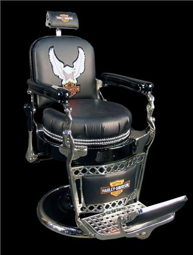 Restored Paidar antique barber chair. Loading zoom & Restored