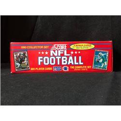 1990 SCORE NFL FOOTBALL COLLECTOR SET (SERIES 1 & 2)