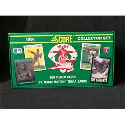 1991 SCORE BASEBALL CARDS COLLECTOR SET