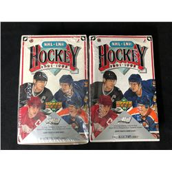 1991-92 UPPER DECK HOCKEY BOX LOT