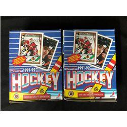1991-92 O-PEE-CHEE HOCKEY BOX LOT