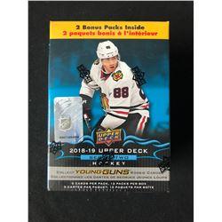 2018-19 Upper Deck Series 2 Hockey Blaster Box