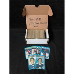 300+ 1979 O-PEE-CHEE HOCKEY CARDS