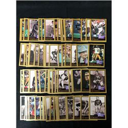 NFL FOOTBALL HALL OF FAME TRADING CARDS (75 CARDS)