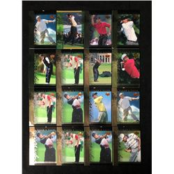 TIGER WOODS GOLF TRADING CARDS
