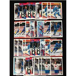 GUY LAFLEUR HOCKEY CARD LOT (42 CARDS)
