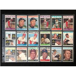 1964 TOPPS BASEBALL CARD LOT