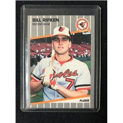 1989 Fleer #616 Bill Ripken F-Face Error Card