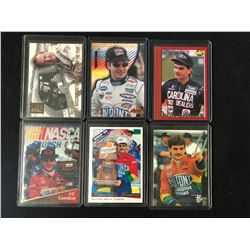 JEFF GORDAN CAR RACING CARDS LOT
