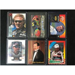 AUTO RACING DRIVERS CARD LOT (SOME AUTOGRAPHED)