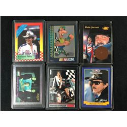 AUTO RACING DRIVERS CARD LOT